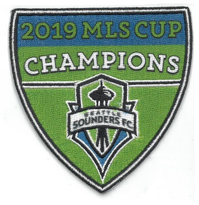 Seattle Sounders MLS Cup Champions Patch
