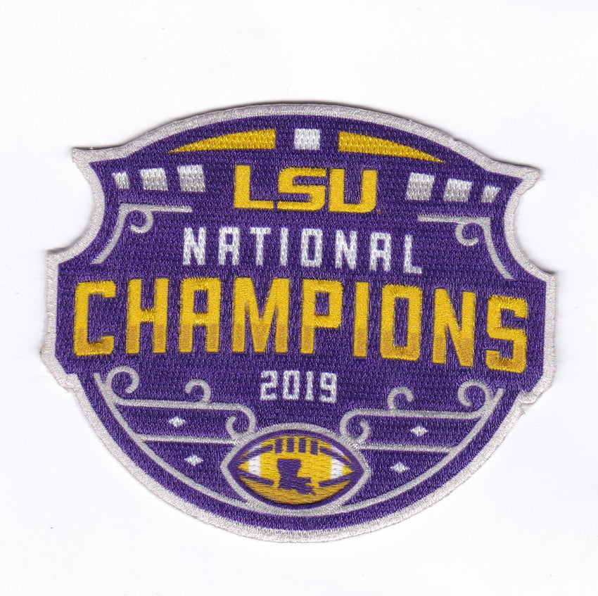 2019 CFP National Champions Collector Patch