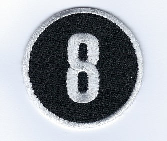 Joe Morgan 8 Memorial Patch
