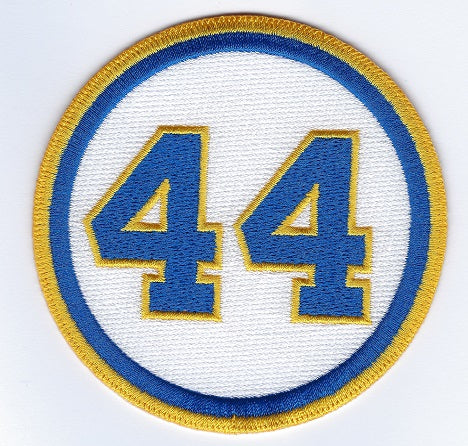 Hank Aaron 44 Memorial Patch