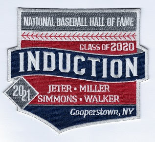 National Baseball Hall of Fame Induction 2020-2021 (Jeter, Miller, Simmons, Walker)