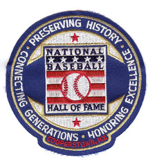 National Baseball Hall of Fame Mission Statement Patch