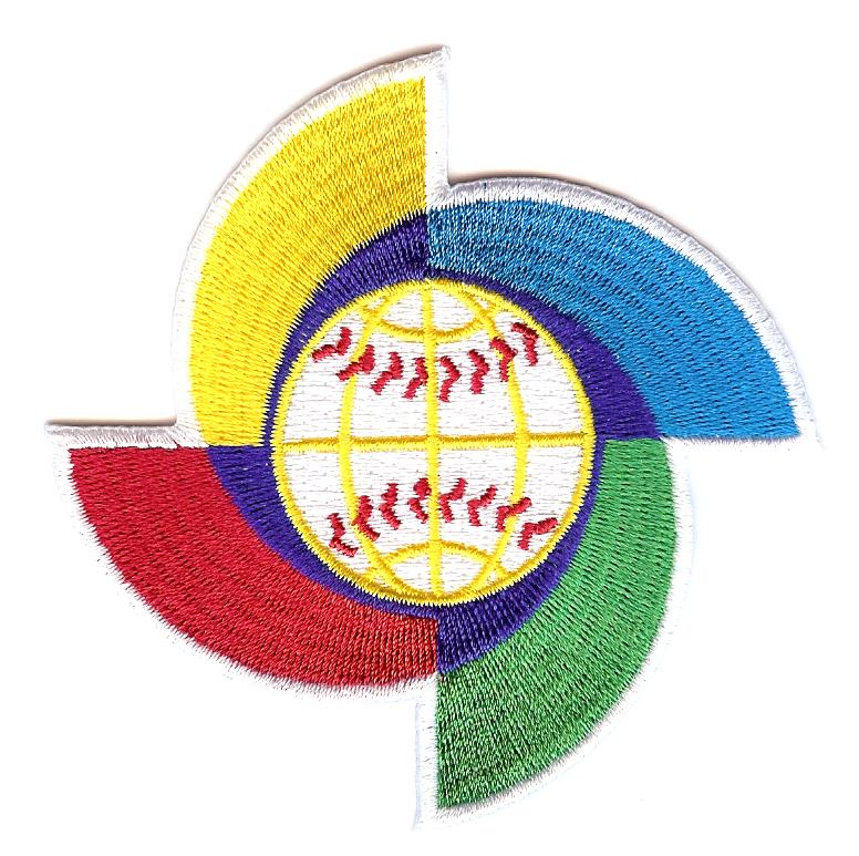 World Baseball Classic Spinner Patch