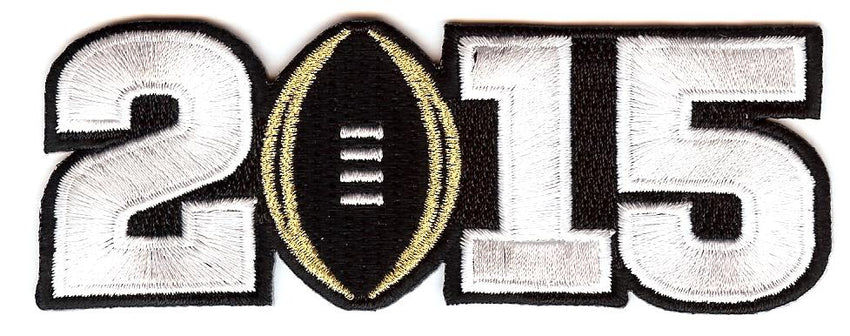 2015 College Football Playoff National Championship Patch Black (Worn by Ohio State)