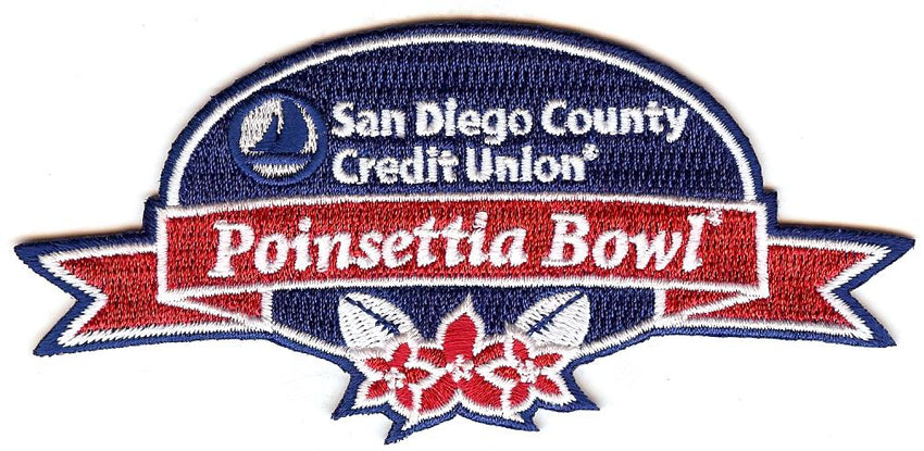 San Diego County Credit Union Poinsettia Bowl Patch