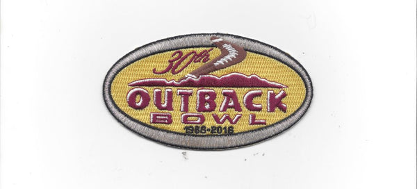 Outback Bowl 30th Anniversary (2016) Patch