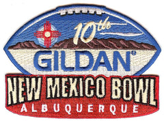 Gildan New Mexico Bowl 10th Anniversary (2015) Patch