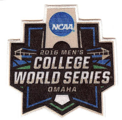 2016 Men's College World Series Patch