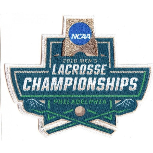 2016 Men's Lacrosse Championships Patch