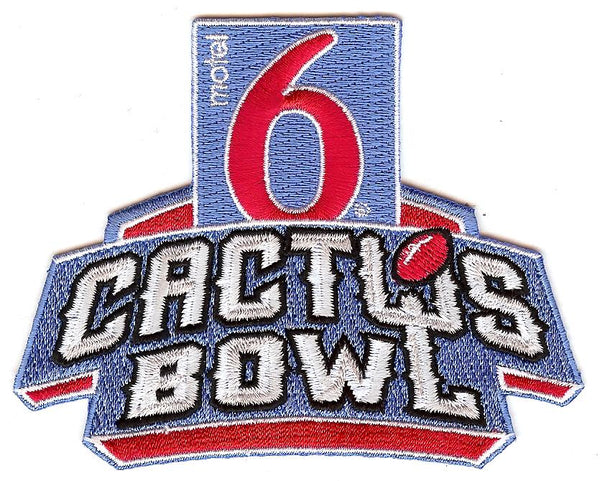 Motel 6 Cactus Bowl Patch