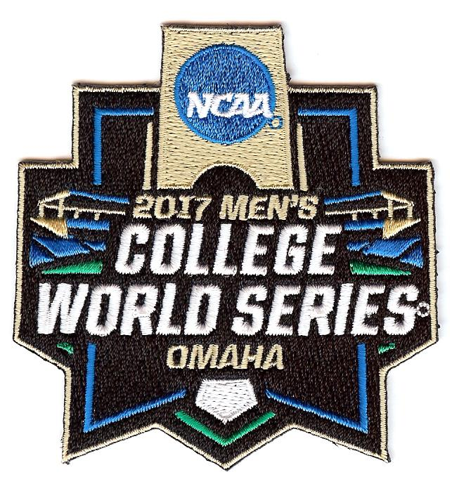 2017 Men's College World Series Patch