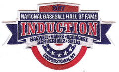 2017 National Baseball Hall of Fame Induction Patch
