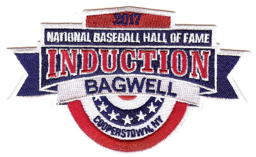 2017 National Baseball Hall of Fame Induction Patch (Bagwell)