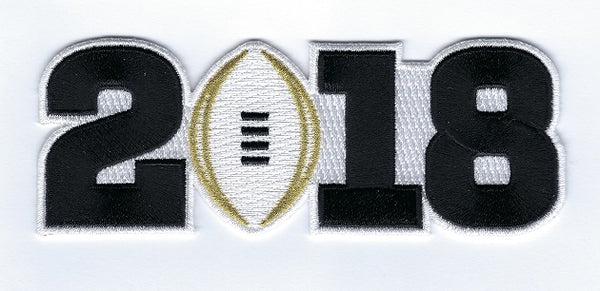 College Football Playoff 2018 Patch