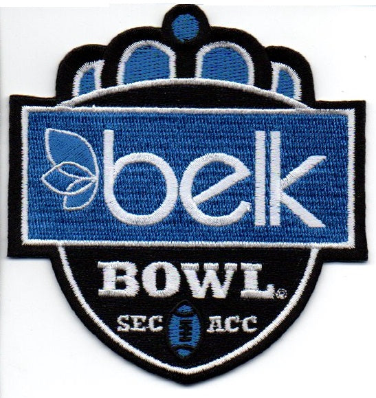 Belk Bowl Patch