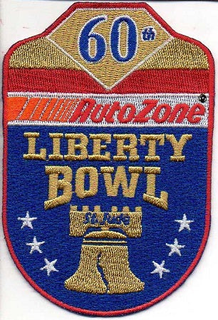 60th Anniversary AutoZone Liberty Bowl Patch