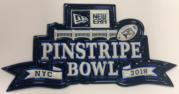 New Era Pinstripe Bowl EmbossTech Patch (2018)