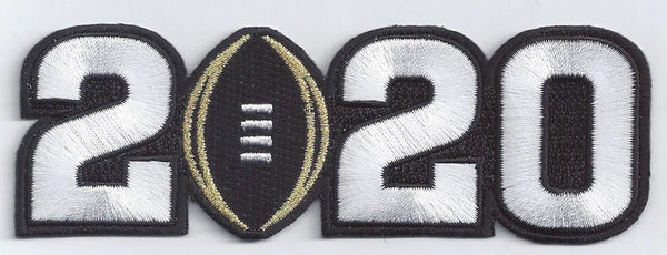 2020 College Football Playoff National Championship Patch