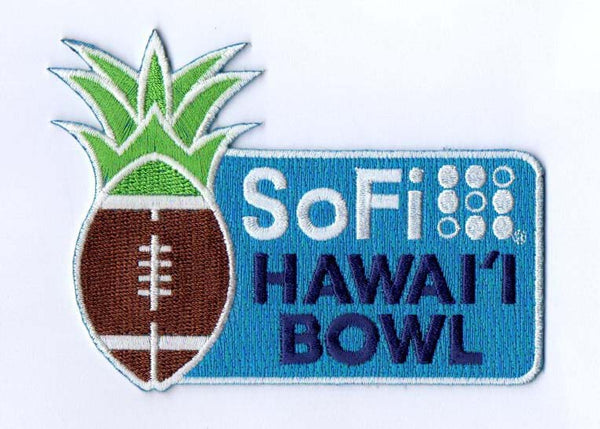 SoFi Hawai'i Bowl Patch 2019