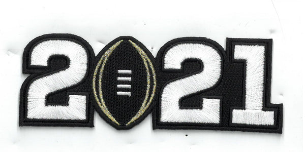 College Football Playoff 2021 Patch