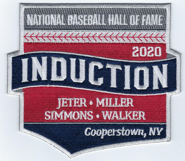 National Baseball Hall of Fame 2020 Induction Patch