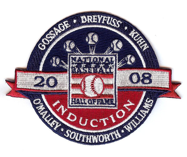 2008 Baseball Hall of Fame Induction Patch