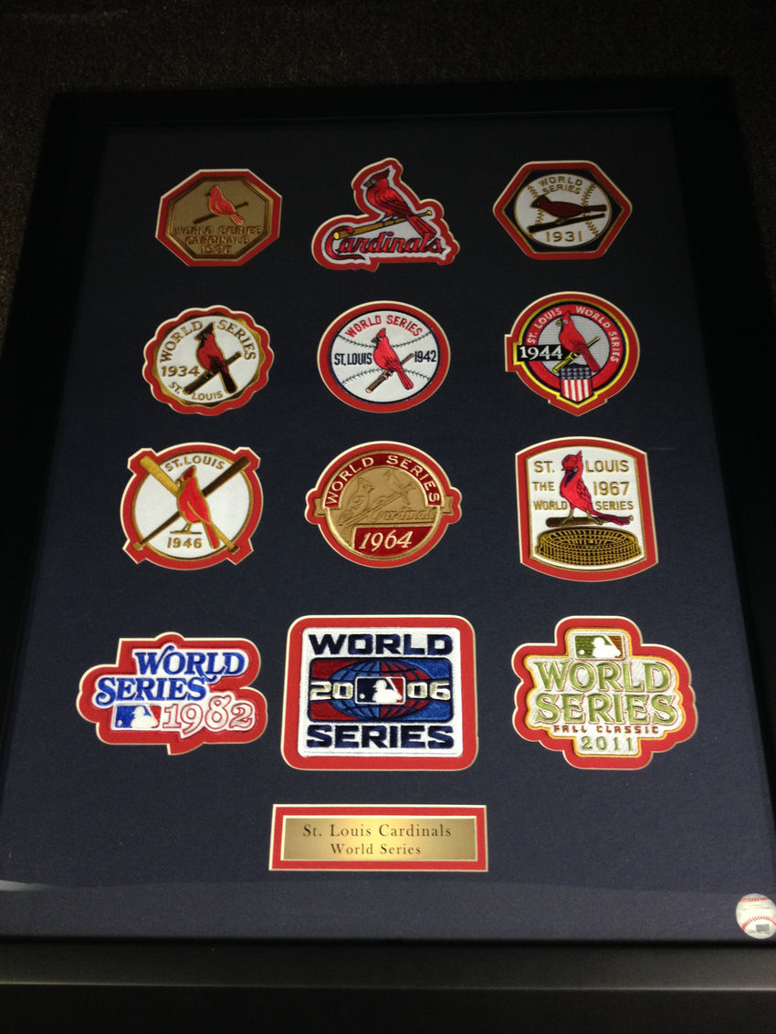 St. Louis Cardinals 12 pc Framed Set