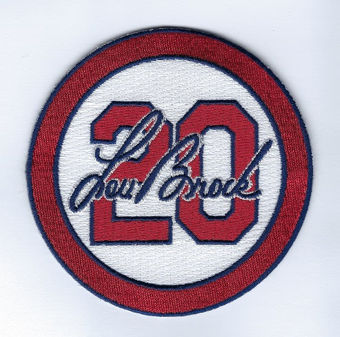 Lou Brock Memorial 20 (Home White Center)