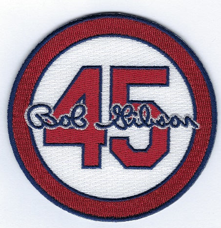 Bob Gibson 45 Memorial Patch (White)