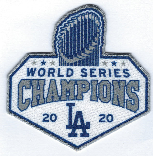 Los Angeles Dodgers 2020 World Series Champions - Diamond Series Trophy FanPatch