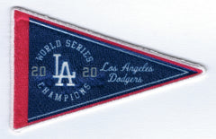 Los Angeles Dodgers 2020 World Series Champions - Pennant FanPatch