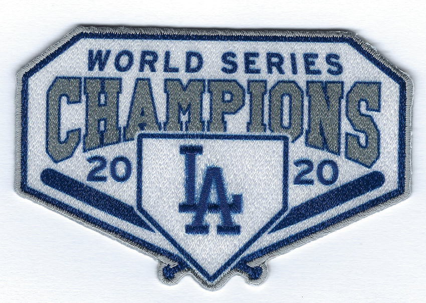 Los Angeles Dodgers 2020 World Series Champions - Diamond Series FanPatch