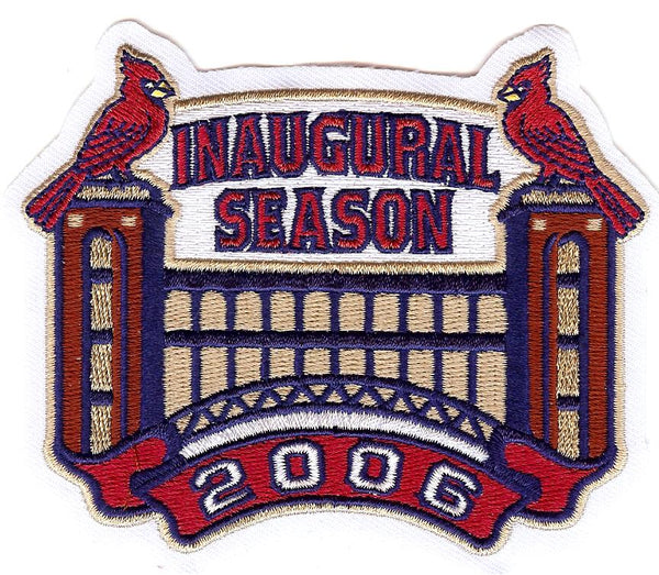 St. Louis Cardinals 2006 Inaugural Season Patch