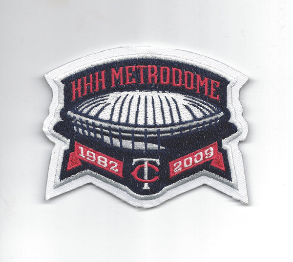 Minnesota Twins HHH Metrodome Patch 1982-2009