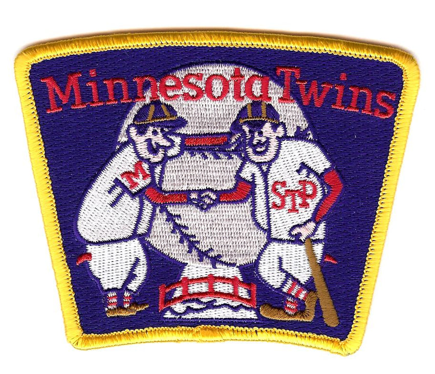 "Minnesota Twins ""Shaking Hands"" Alternate Patch (2009-Pres)"
