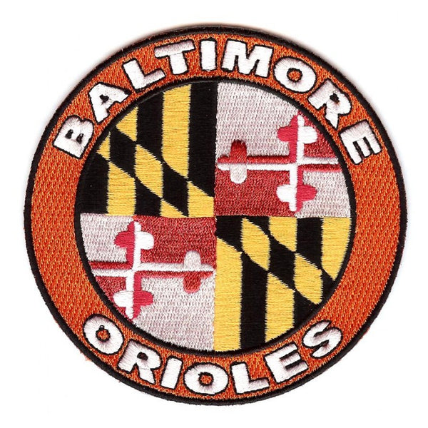 Baltimore Orioles Home Sleeve Patch