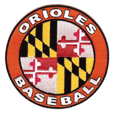 Baltimore Orioles Away Sleeve Patch