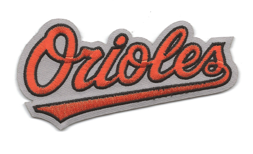 "Baltimore Orioles Script ""Orioles"" Patch"