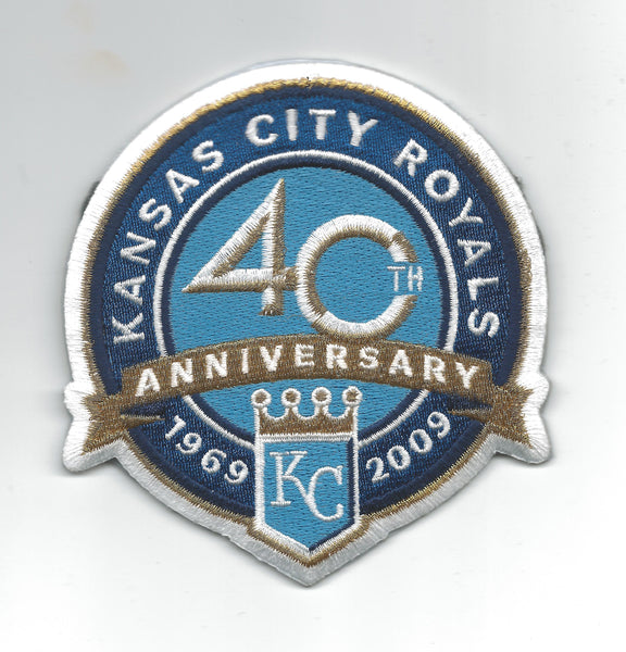 Kansas City Royals 40th Anniversary (Gold Banner)
