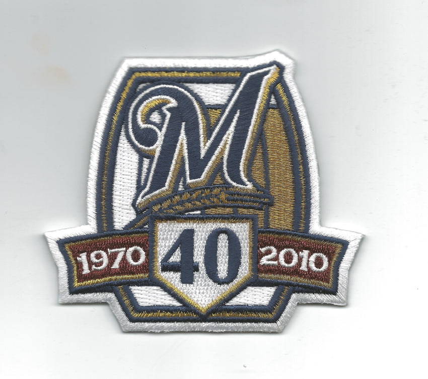 Milwaukee Brewers 40th Anniversary 1970-2010