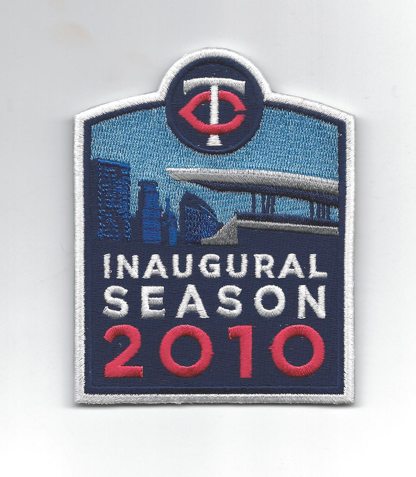 Minnesota Twins Inaugural Season 2010 Sleeve Patch