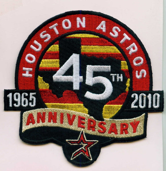 Houston Astros 45th Anniversary 1965-2010