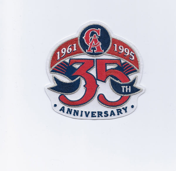 California Angels 1961-1995 35th Anniversary