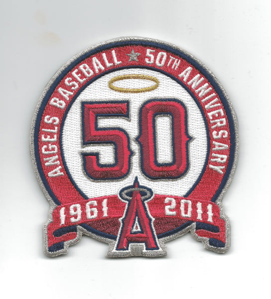 Los Angeles Angels Baseball 50th Anniversary, 1961-2011 (Gold Halo)