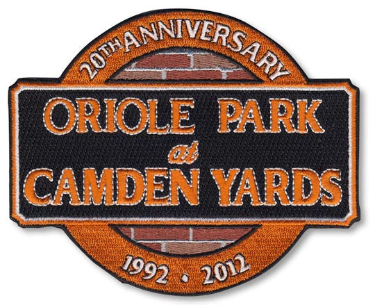 Baltimore Orioles 20th Anniversary Camden Yards