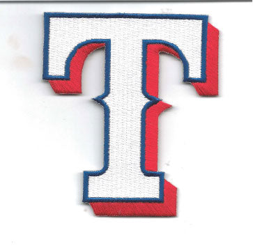 Texas Rangers Hat Logo Patch