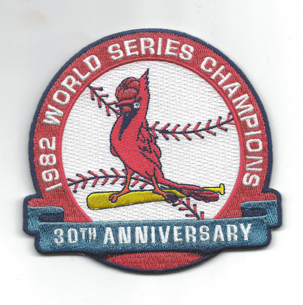 St Louis Cardinals 1982 World Series Champions 30th Anniversary