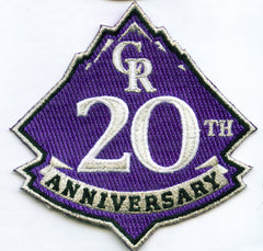 Colorado Rockies 20th Anniversary