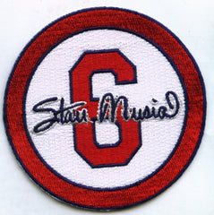"Stan Musial ""6"" Memorial Patch (White)"