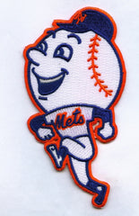 "New York Mets ""Mr. Met"" Alternative Sleeve Patch"
